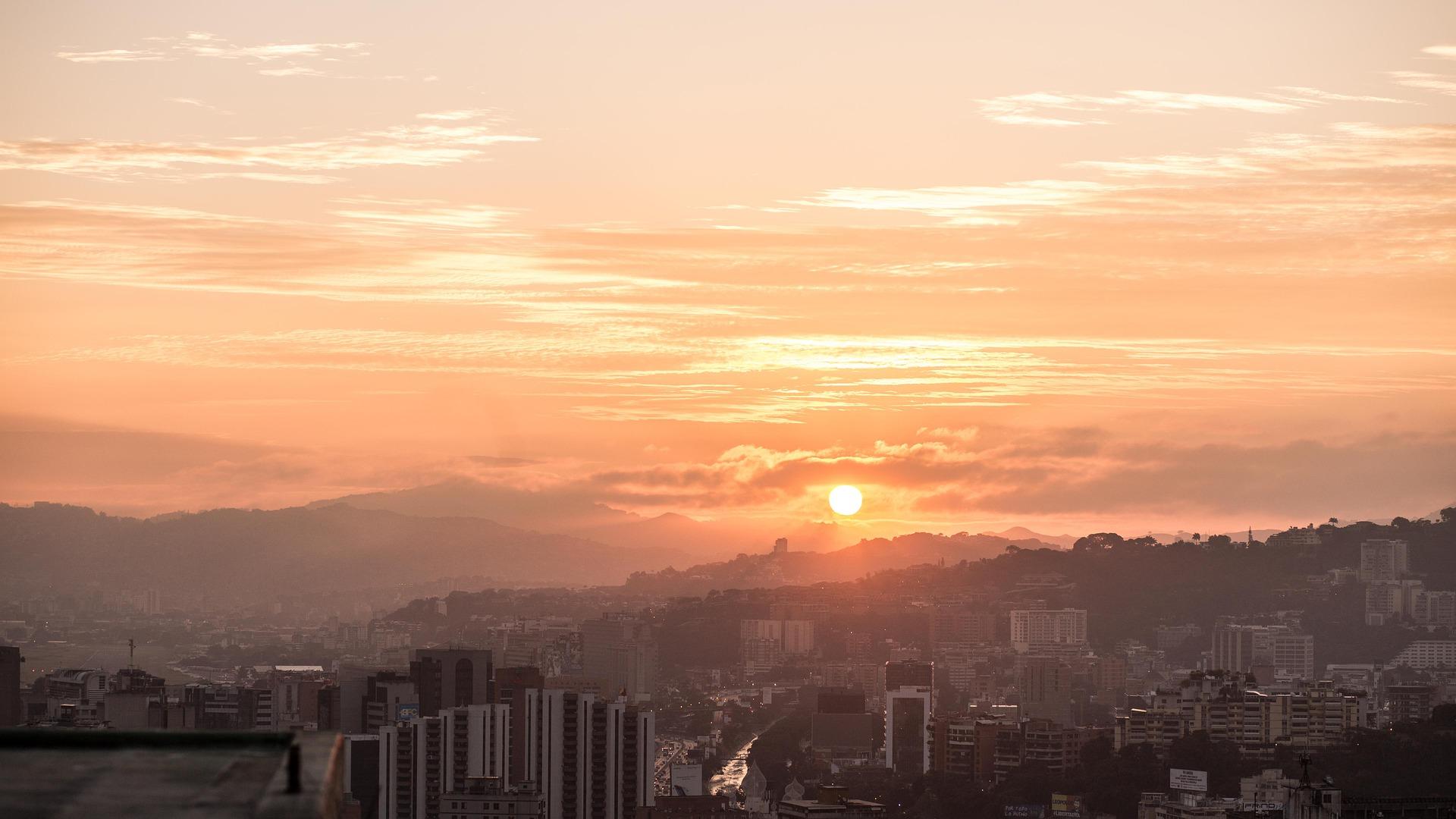 Atardecer en Caracas