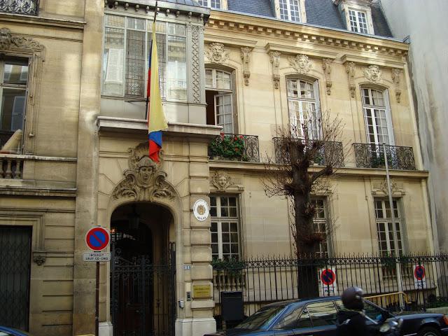 Embajada de Venezuela en Francia